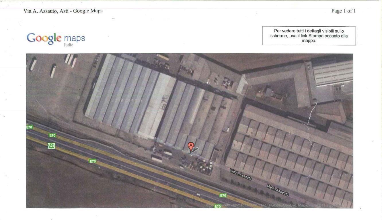 Vendita Capannone Commerciale/Industriale Asti Via Assauto 72722