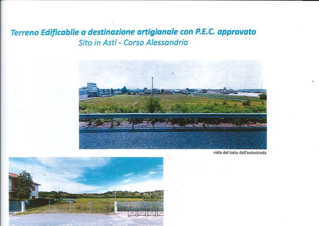 Vendita Terreno edificabile Terreno Asti corso alessandria 234816